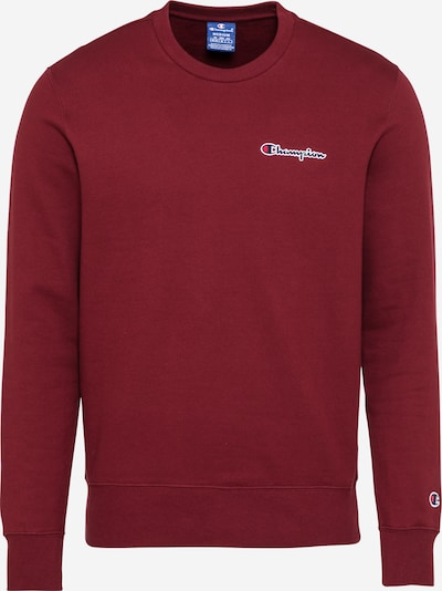 Champion Authentic Athletic Apparel Sweatshirt in navy / kirschrot / weiß, Produktansicht