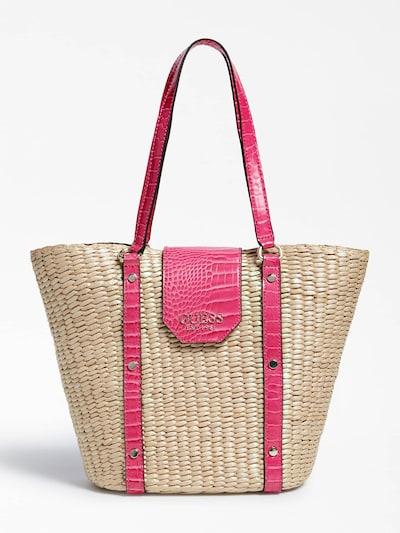 GUESS Cabas 'Paloma' en mastic / rose, Vue avec produit