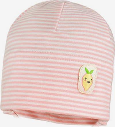 MAXIMO Mütze in rosa / weiß, Produktansicht
