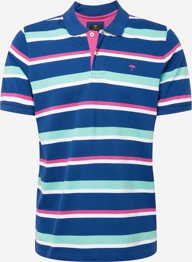 FYNCH-HATTON Shirt in azur / dunkelblau / pink / weiß, Produktansicht