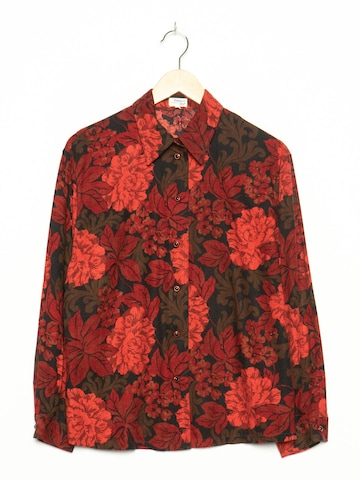 Creation Atelier GS Blumenbluse in M in Rot