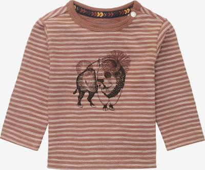 Noppies Langarmshirt 'Rimini' in beige / braun / schwarz, Produktansicht