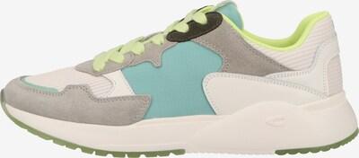 CAMEL ACTIVE Sneaker in creme / himmelblau / hellgrau / limette / schwarz / weiß, Produktansicht