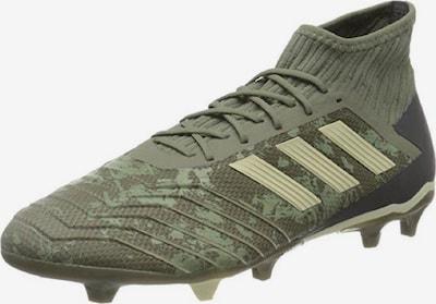 ADIDAS PERFORMANCE Fußballschuh 'Predator 19.2 Fg' in beige / taupe / grün / khaki / schwarz: Frontalansicht