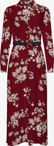 VERO MODA Kleid 'Roma' in Rot