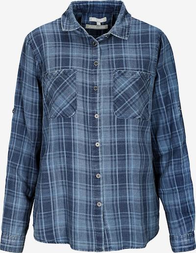 BASEFIELD Bluse in blue denim / dunkelblau, Produktansicht