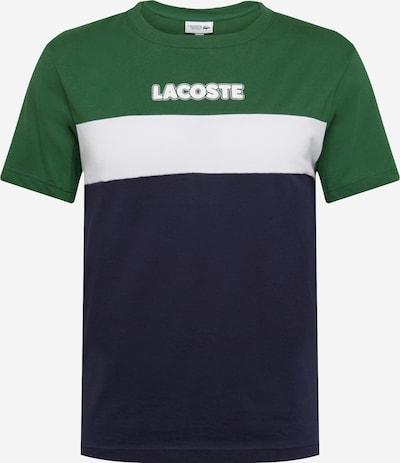 LACOSTE Shirt in de kleur Navy / Smaragd / Wit, Productweergave