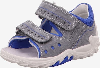 SUPERFIT Sandale 'Flow' in blau / hellgrau, Produktansicht