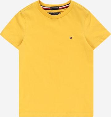 TOMMY HILFIGER T-Shirt in Gelb