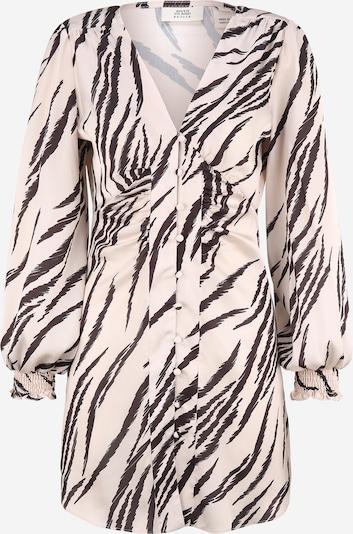 River Island Petite Robe-chemise en rose / noir, Vue avec produit