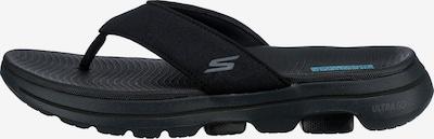 SKECHERS Zehentrenner in blau / schwarz, Produktansicht