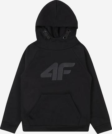 4F Sport sweatshirt i svart
