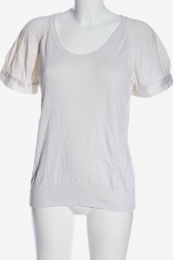 Maison 123 Kurzarmpullover in XXXL in weiß, Produktansicht