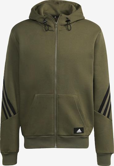 ADIDAS PERFORMANCE Sportsweatvest in de kleur Kaki / Zwart, Productweergave