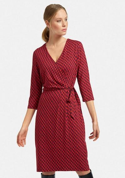 Uta Raasch Jerseykleid Jersey-Kleid mit 3/4-Arm in rot, Modelansicht