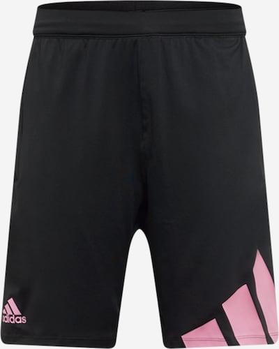 ADIDAS PERFORMANCE Pantalón deportivo en rosa / negro, Vista del producto