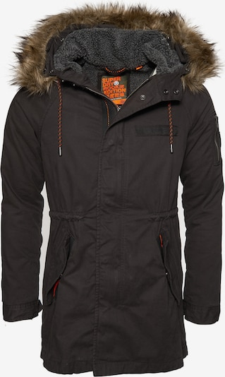 Superdry Winterjas 'Mountain Rookie Aviator' in de kleur Zwart, Productweergave