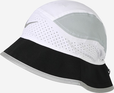 NIKE Czapka sportowa w kolorze szary / czarny / białym, Podgląd produktu