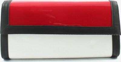 JustFab Clutch in One Size in rot / schwarz / weiß, Produktansicht