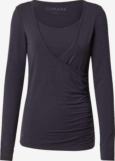 CURARE Yogawear Performance Shirt 'Flow' in Night blue, Item view