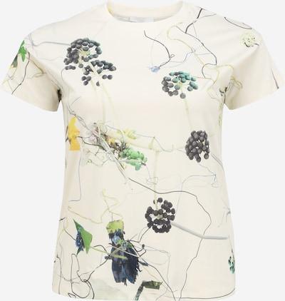 BOSS Tričko 'Eleas' - tmavožltá / antracitová / zelená / smaragdová / biela, Produkt