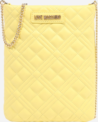 Love Moschino Sac à bandoulière en jaune, Vue avec produit