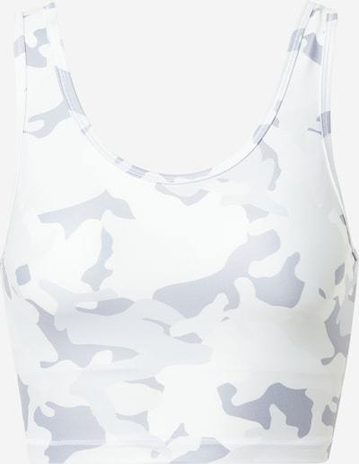 Marika Sport bh 'LAYLA' in de kleur Grijs / Lichtgrijs / Wit, Productweergave