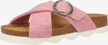 SHEPHERD Mules in Pink