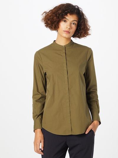 Bluză 'Befelize' BOSS Casual pe kaki, Vizualizare model