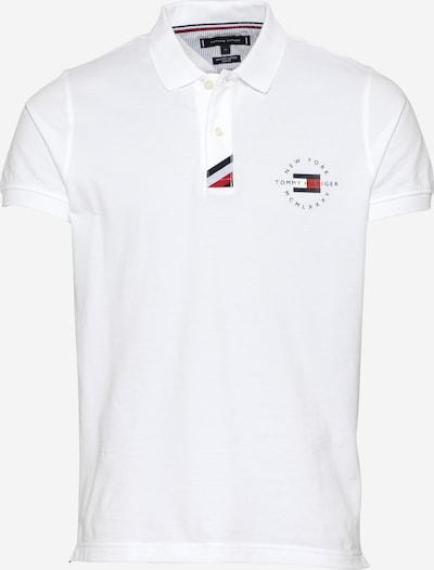 TOMMY HILFIGER T-Shirt en marine / rouge / blanc, Vue avec produit