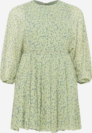 Forever New Curve Robe en bleu fumé / vert clair / blanc, Vue avec produit