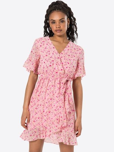 SISTERS POINT Kleid 'NEW GRETO-6' in grün / pink / dunkelpink / weiß, Modelansicht