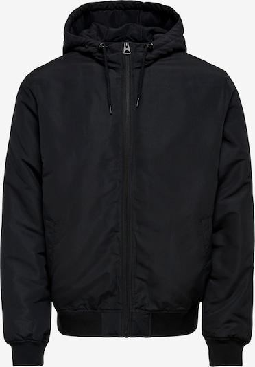 Only & Sons Φθινοπωρινό και ανοιξιάτικο μπουφάν σε μαύρο, Άποψη προϊόντος