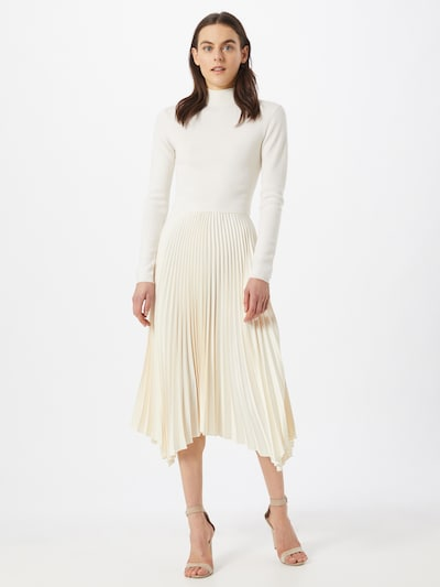 POLO RALPH LAUREN Haljina 'HELEN' u boja pijeska / bijela, Prikaz modela
