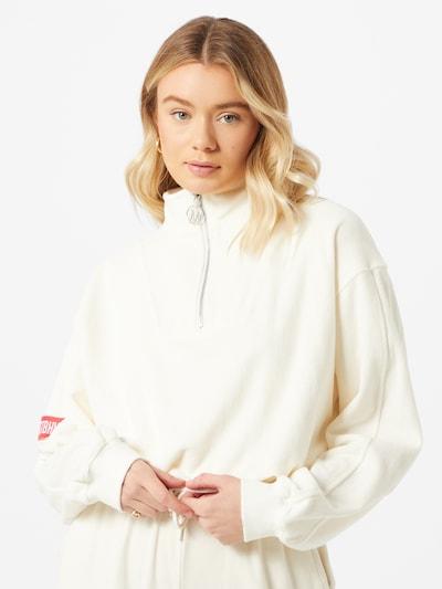 Worst Behavior Sweater majica u bijela, Prikaz modela