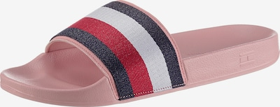 TOMMY HILFIGER Mule in Night blue / Pink / Red / White, Item view