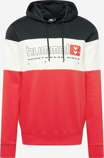 Hummel Sportska sweater majica u crvena / crna / bijela, Pregled proizvoda