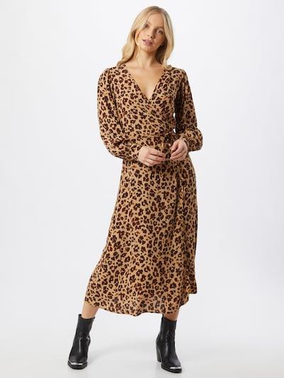 GAP Kleid in beige / dunkelbraun, Modelansicht