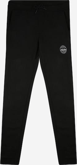 Jack & Jones Junior Pantalon 'GORDON SHARK' en noir / blanc, Vue avec produit