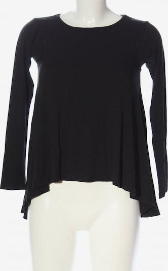 Laufsteg München Langarm-Bluse in S in schwarz, Produktansicht