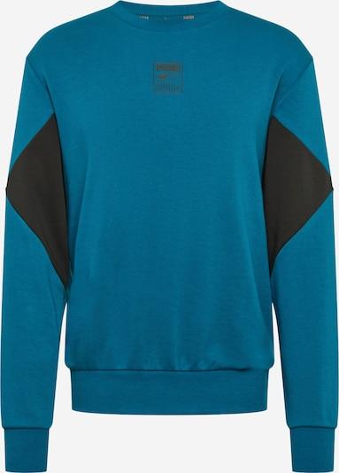 PUMA Sportsweatshirt in himmelblau / schwarz, Produktansicht
