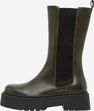 Bianco Stiefel 'BIADEB' in dunkelgrün, Produktansicht