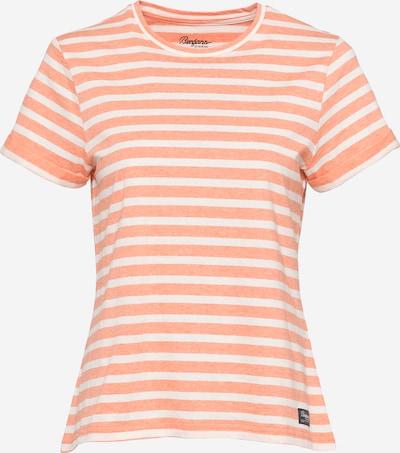 Bergans Sportshirt 'Oslo' in apricot / weiß, Produktansicht