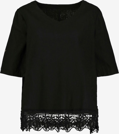 Ulla Popken Bluse in schwarz, Produktansicht