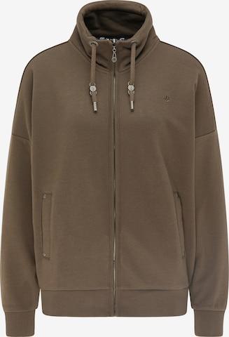 DreiMaster Vintage Sweatjacke in Braun