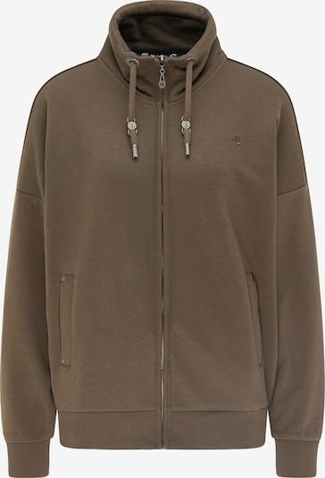 DreiMaster Vintage Sweatjacke in braun, Produktansicht