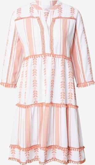Rich & Royal Klänning i persika / vit, Produktvy