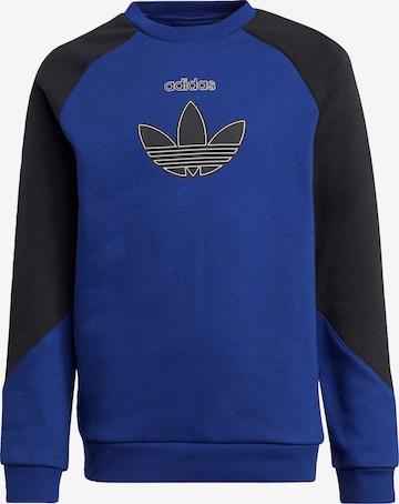 ADIDAS ORIGINALS Sweatshirt in Blue