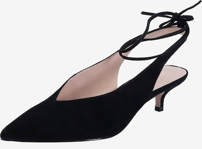 Ekonika Slingpumps in schwarz, Produktansicht