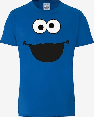 LOGOSHIRT T-Shirt 'Sesamstraße - Krümelmonster' in blau, Produktansicht